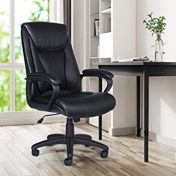 Офисный стул Pantheon Black, 63 x 71 x 102.5–112 см