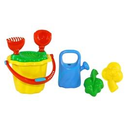 Smėlio žaislų rinkinys 4IQ Gardener, įvairių spalvų
