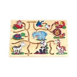 Lavinamasis žaislas, Afrika, medinis