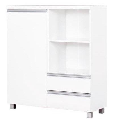 Kumode Bodzio Aga AG27 White, 90x36x101 cm