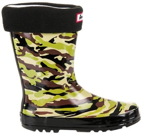 American Club Children Rubber Boots 50601 Army Green 34