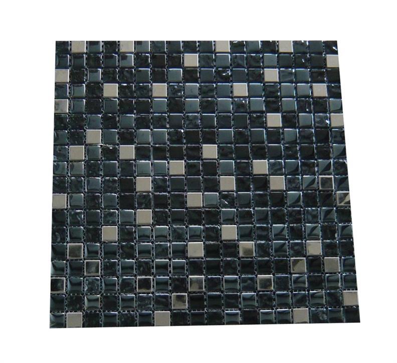 Stiklo mozaikos pilka A2908, 30 x 30 cm