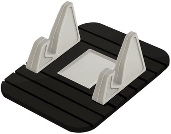 Qoltec Anti-Slip Mat Stand Black/Grey