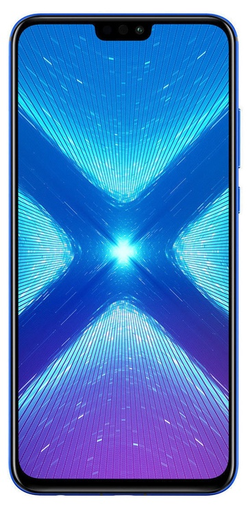 Huawei Honor 8X 4/64GB Dual Blue with SanDisk 64GB Ultra MicroSD Card
