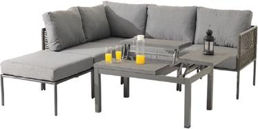 Комплект уличной мебели Masterjero UNT-R-737, серый, 1-6 места