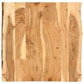 Столешница VLX Solid Acacia Wood, коричневый, 600 мм x 600 мм