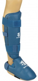 Matsuru Karate Shin Foot Protector XL Blue