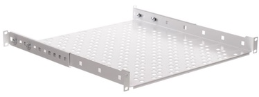 Netrack Equipment Shelf 19'' 1U/450mm Grey