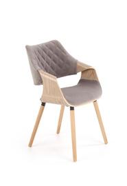 Söögitoa tool Halmar K396 Light Oak/Gray