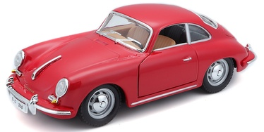 Bburago Car Porsche 356B Coupe 1961 1:24 18-22079 Red