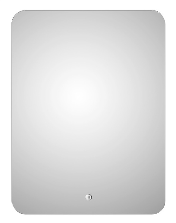Peegel Masterjero Novito YJ-2027H, valgustusega, riputatav, 60x80 cm