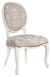 Home4you Chair Elizabeth Without Armhole White 83921