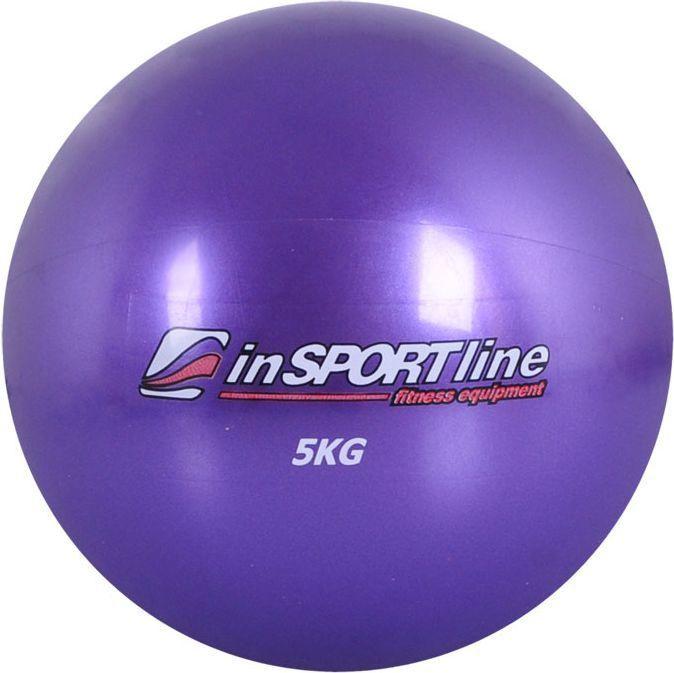 inSPORTline Yoga Ball 5kg Purple