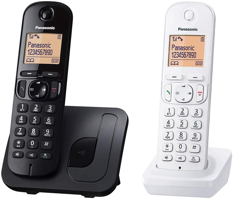 Panasonic KX-TGC212JT1 Black/White