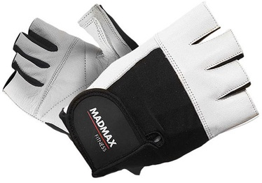 Mad Max Fitness Gloves White Black M
