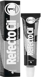 RefectoCil Eyelash & Eyebrow Tint 15ml 1 Pure Black