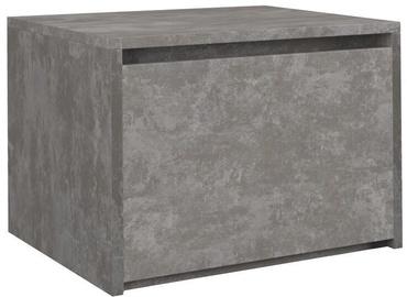 Ночной столик Top E Shop K1 Karo, серый, 45x38x34 см