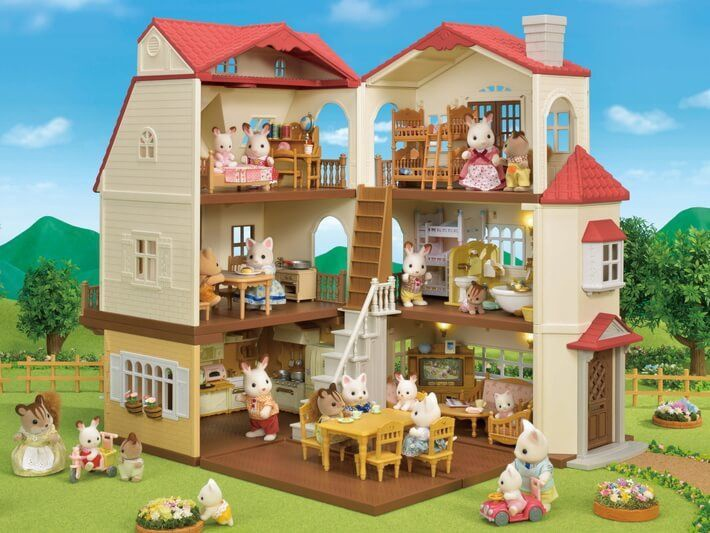 Epoch Sylvanian Families Red Roof Country Home 5302