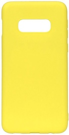 Evelatus Soft Touch Back Case For Samsung Galaxy S10e Yellow