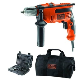 Black & Decker KR714S32 Impact Drill w/ 32 Piece Bit Set 710W