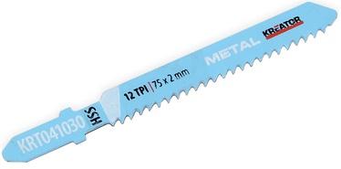 Kreator HSS Metal Jigsaw Blade 75x2mm