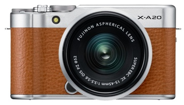 Fujifilm X-A20 + Fujinon XC 15-45mm F3.5-5.6 OIS PZ Brown