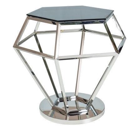 Журнальный столик Signal Meble Rolex Chrome, 480x420x550 мм