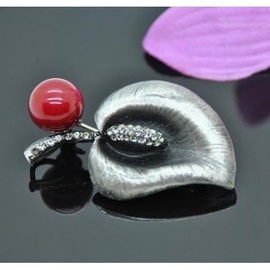 Vincento Brooch With Zirconium Crystal LD-1145