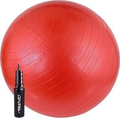 Avento Sport Anti Burst Gym Ball 65cm Red + Pump
