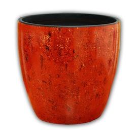 Вазон Askovita Ceramic Flower Pot With Saucer VDN-10 D30cm Red