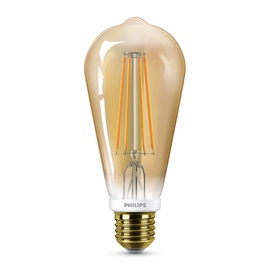 LED lempa Philips ST64, 7.5W, E27, 2000K, 630lm