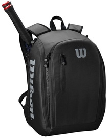 Wilson Tour Backpack For 2 Rackets Black
