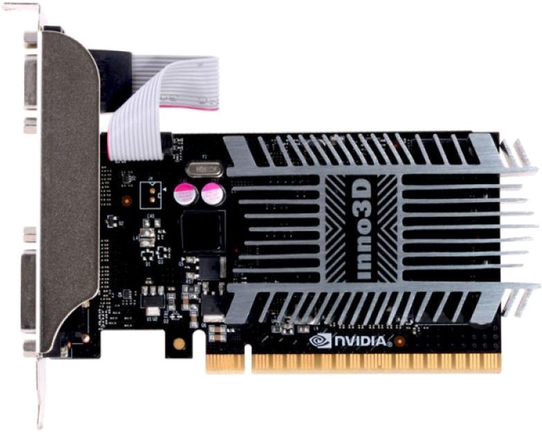 Inno3D GeForce GT 710 1GB GDDR3 PCIE N710-1SDV-D3BX