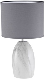 Fischer & Honsel Vari Marmor Table Lamp 40W E14 Marble/Gray