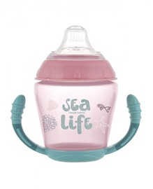 Canpol Babies Non Spill Cup Sea Life 230ml 56/501 Pink