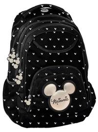 Paso Minnie School Backpack w/ Pencil Case & Wallet Black