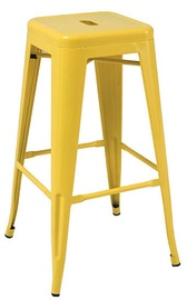 Signal Meble Hoker Long Bar Stool Yellow