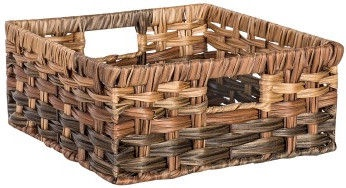 Home4you Basket Rubys 3 22x22x10cm Brown