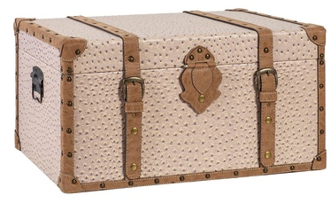Home4you Chest Oskar 73x45x40cm Beige