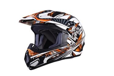 Motociklininko šalmas DP906, L dydis
