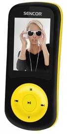 Музыкальный проигрыватель Sencor SFP 5870BYL Yellow, 8 ГБ