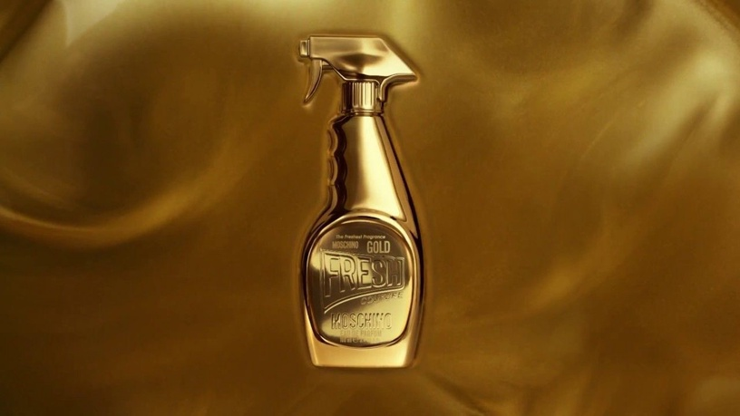 Набор для женщин Moschino Fresh Gold Couture 4pcs Set 65 ml