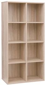 Plaukts Songmics Wooden, 129.5x65.5x30 cm
