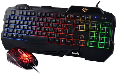 Havit KB558CM Gaming Keyboard and Mouse Combo Black