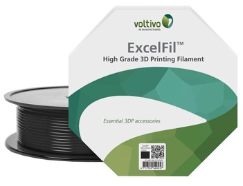 Voltivo ABS Filament Cartridge 1.75 mm Black