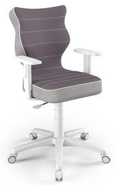 Детский стул Entelo Duo CR07, белый/фиолетовый, 400 мм x 1045 мм