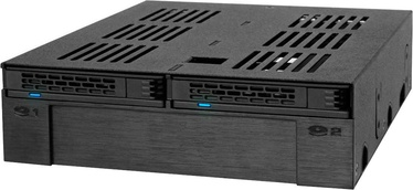 "Icy Dock ExpressCage MB322SP-B 2x2.5"" + 3.5"" Slot SAS / SATA"
