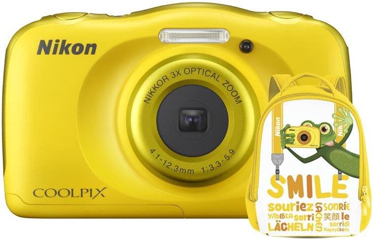 Nikon Coolpix W100 Yellow + Backpack