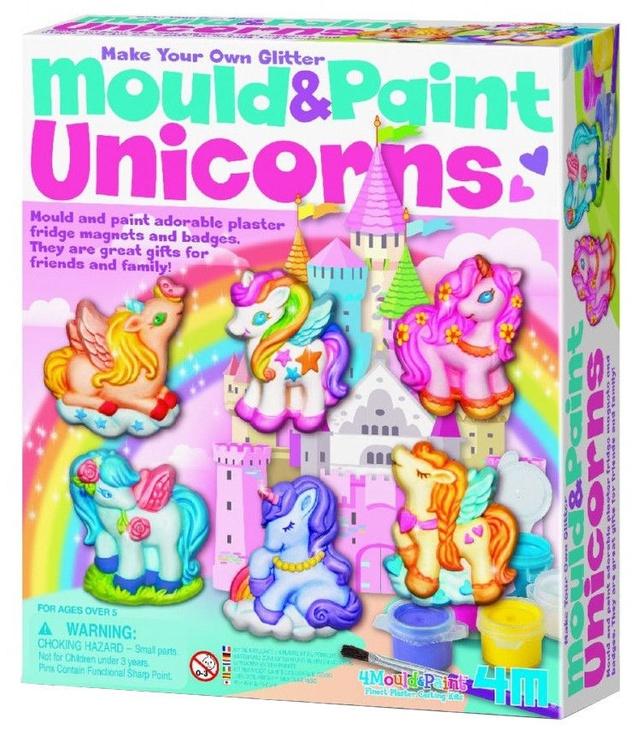 4M Mould And Paint Unicorns
