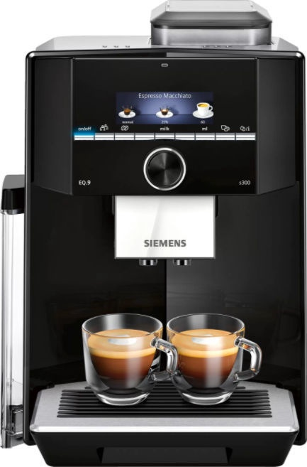 Kafijas automāts Siemens TI923509DE EQ.9 s300 Black/Silver